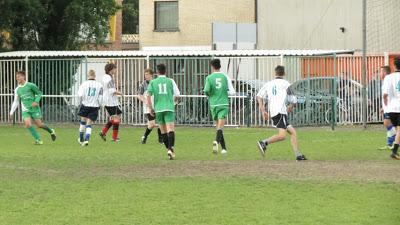 Voetbalmatch KA VS GO! Maldegem