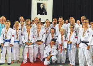 Gina-Lisa Perinotto en Rubèn Martens behalen podiumplaatsen in het Judo