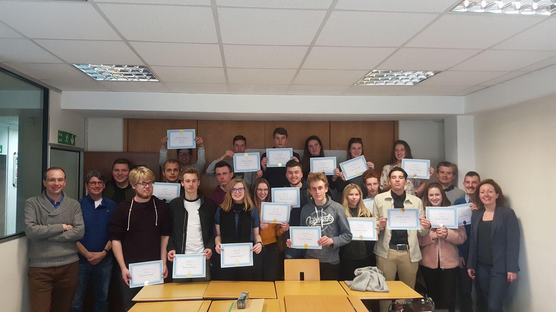 Diploma uitreiking Erasmus