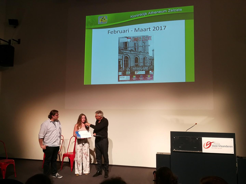 Prijs provincie voor WO1 project