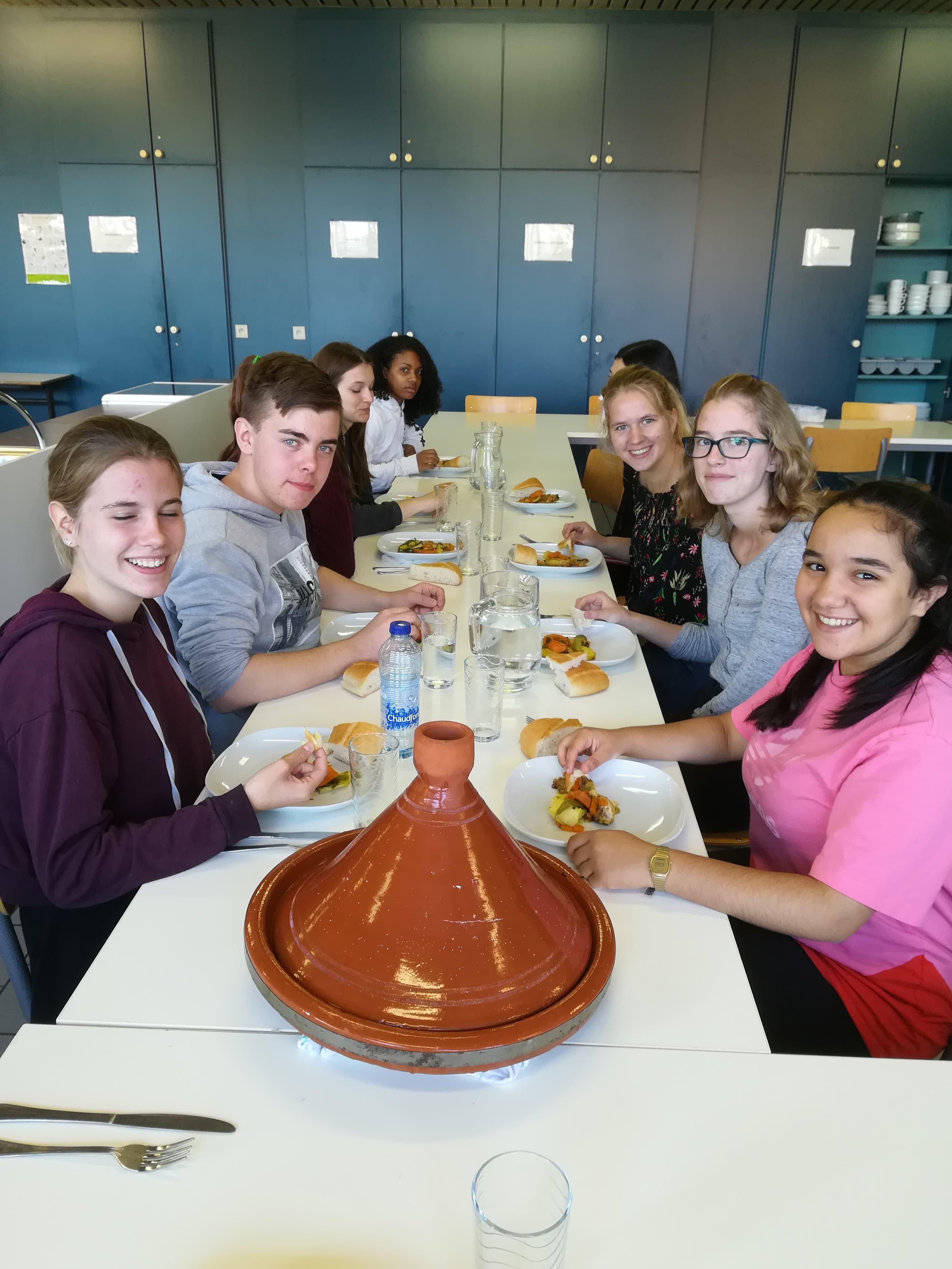 Gastles Marokkaanse tajine en muntthee
