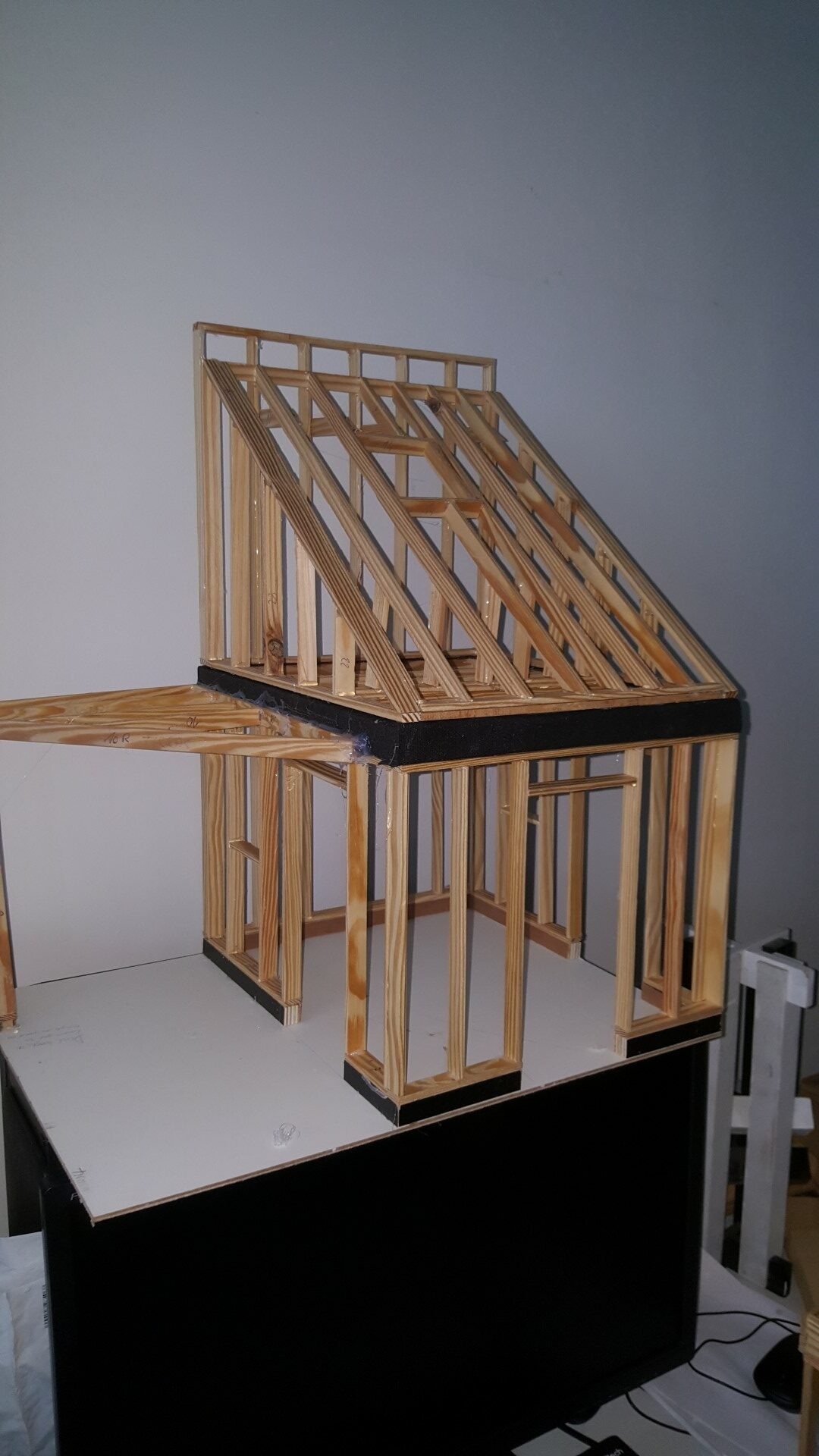 Maquette houtskeletbouw